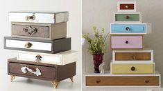 Prateleiras feitas com gavetas velhas ~ Decoração e Ideias - casa e jardim