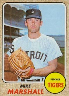 1968 Topps Mike Marshall #201 Baseball Card