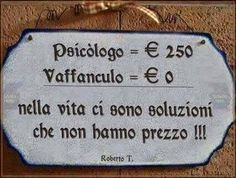 Psychology = € 250 Fuck you = € 0 ------------ in life there are solution that doesn't have any price ! Italian Humor, Italian Quotes, Geek Quotes, Funny Quotes, Sarcastic Sentence, Funny Images, Funny Pictures, Well Said Quotes, Feelings Words