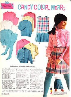 1968 Sears Wish Book 258.   I had some of these clothes!