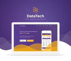DataTech Apps Landing Page:DataTech Apps manage a business-customer relationship, CRM software systems are also used in the same way to manage business contacts, employees, clients, contract wins and sales leads