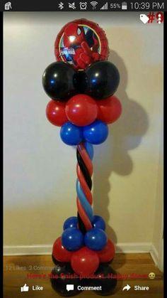 Spiderman pillar