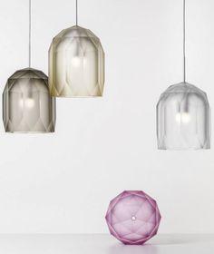 LED blown #glass pendant #lamp POLYGON by Lasvit | #design Jan Plechac, Henry Wielgus @lasvit
