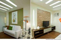 iluminação de apartamento
