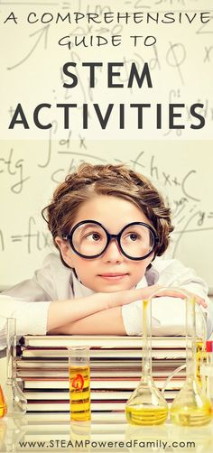 A comprehensive guide to STEM activities: understand STEM, the benefits, how to create STEM activities & lesson plans, 100+ STEM Activities via @steampoweredfam