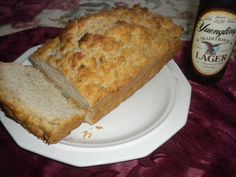 Per Google.com, the #1 recipe for Beer Bread in the world! There are a few recipes for beer bread out there, but none as simple (and tasty!) as this one. You can even mix it in the baking pan for easy cleanup. This is sensational when served with soups or just as a snack, but dont expect it to be around very long when your family gets a taste of it! Be sure to use a sheet pan on the shelf below the pan to catch any excess butter that may drip during cooking.