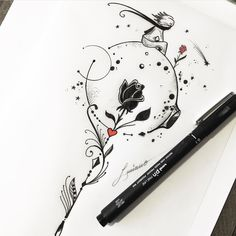 The Little Prince Tattoo is part of Watercolor tattoos Design Wedding Invitations - Watercolor tattoos Design Wedding Invitations Pencil Art Drawings, Art Drawings Sketches, Tattoo Drawings, Cute Drawings, Cute Tattoos, Beautiful Tattoos, Body Art Tattoos, Tatoos, Tatuajes Tattoos