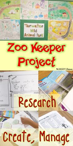 Your students will love being Zoo Keepers! They'll research  animals and biomes, design  a a habit and then manage the zoo. Packed full of reading, writing and math skills. Perfect project for the end of the school year.