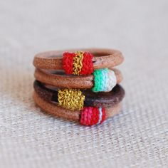 leather rings=no degloving whilst rock climbing or hiking.