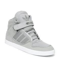 Buy Adidas Originals Men Grey AR Casual Shoes - 632 - Footwear for Men - 370478 Casual Sneakers, Sneakers Fashion, Casual Shoes, Fashion Shoes, High Top Sneakers, Addias Shoes, Kicks Shoes, Mens Winter Boots, Mens Trainers