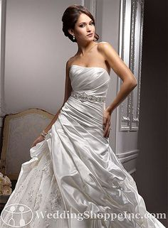 Order a Maggie Sottero Suzanne Bridal Gown at The Wedding Shoppe today