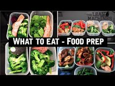 What To Eat - Healthy Food Prep - YouTube