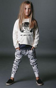 Rock Your Kid Oatmeal Be Yourself Sweatshirt