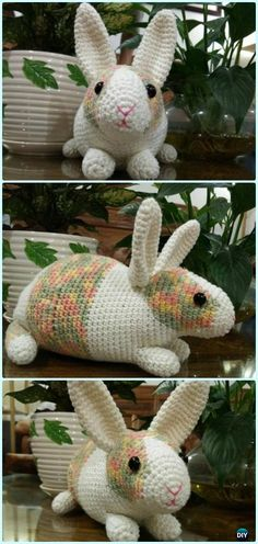 Amigurumi Crochet Dutch Rabbit Free Pattern - Crochet Amigurumi Bunny Free Patterns