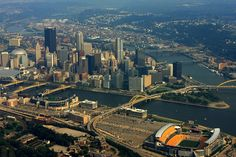 TOUCH this image: Pittsburgh Skyline by John Hepler