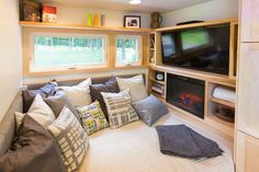 ECSAPE Traveler Tiny Home Bed and Seating