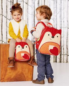 Skip Hop Zoo Little & Toddler Kids' Backpack - Fox, Kids Unisex, MultiColored Red Backpack, Toddler Backpack, Animal Backpacks, Kids Backpacks, Skip Hop Zoo, Long Car Rides, Baby Bath Toys, Child Safety, Hedgehogs