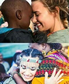 Demi in Africa