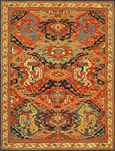 Stamps Art Turkey 1974 Tappeti Carpets Arte