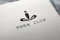 Yoga logo Templates This set includes:- Vector files saved in EPS, text in curves / editable text- PSD file- High qu by Sonne Yoga Logo, Zen Logo, Cv Inspiration, Logo Design Inspiration, Logo Branding, Branding Design, Branding Ideas, Pilates Logo, Textile Logo