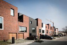 13 houses | gentbrugge - Projects - CAAN Architecten / Gent