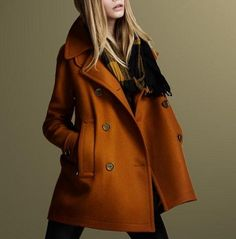 Luxe Double-Breasted Coat