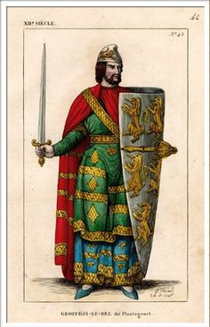Queen Matilda was married to Geoffrey V Plantagenet who was the Count of Anjou
