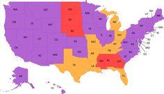 CONGRATULATIONS Montana and South Carolina! The newest marriage equality states!