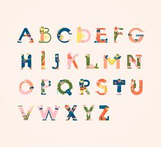 Typography meets illustration. Letters introduced to characters. Fun. A personal study. Just for fun. Letters available in mini prints exclusively at http://shop.vesa-s.com/. Limited edition.