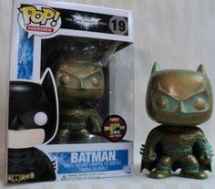 Comic con Exclusive Patina Batman Funko Pop
