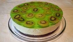 Hvordan få kiwi til å stivne inn i gelé Norwegian Food, Norwegian Recipes, Pudding Desserts, Brownies, Cake Recipes, Goodies, Food And Drink, Kiwi, Sweets