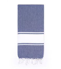 Basic Blanket- navy and slate for bed/living room