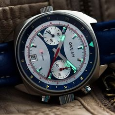 RUSSIAN OKEAH CHRONOGRAPH WATCH