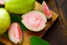GUAVA.                                                   Packed with vitamin C, which boosts collagen production to smooth skin. 2 cups of guava per week is the perfect dose of this anti-aging powerhouse.