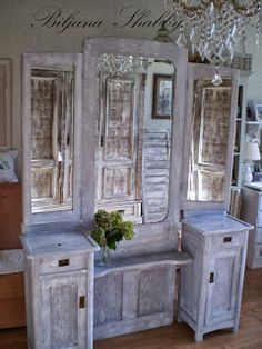 Biljana Shabby: Renovation Of Old Furniture   Antique Dresser Makeover