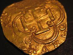 2 Escudo ATOCHA Shipwreck GOLD Coin Mel Fisher Grade 1!