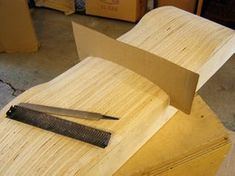 Picture of Building the Mold Building Design Plan, Building A Deck, Cool Deck, Diy Deck, Build Your Own Skateboard, Bmx, Plywood Projects, Woodworking Projects, Deck Construction
