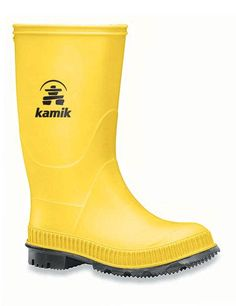 Don't let the rain getcha down! We offer a great selection of kids rain boots including the Kamik Stomp. Shop our site for your Columbia rain gear today! Kids Rain Boots, Rubber Rain Boots, Rain Gear, Synthetic Rubber, Cleaning Wipes, Vibrant Colors, Camper, Raincoat, Youth