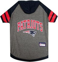 NFL New England Patriots Hoodie Football Dog Tee 0374a5aa6
