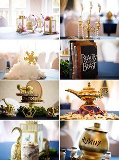 A Disney Inspired Wedding at Castle Avalon Disney Wedding Centerpieces, Wedding Themes, Wedding Decorations, Wedding Ideas, 1920s Wedding, Themed Weddings, Disney Inspired Wedding, Wedding Disney, Disney Weddings