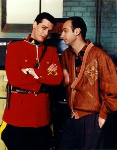 Benton and Ray (Due South). Love this show.