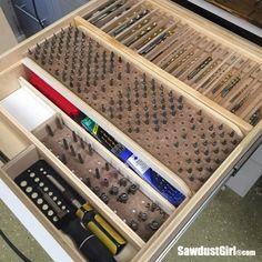 Multi Tier, Modular Storage Drawer Organizer