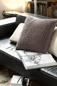 Trinity Stitch Pillow-Vogue.