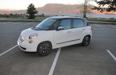A fun-filled, five-door, the Fiat 500L is powered by a turbocharged, 1.4L four that pumps out 160 hp and a remarkable 184 lbs.-ft of torque..