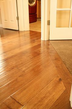 Wood To Tile Transition Kitchen Floor On Pinterest