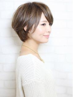 ミューズ Hair Make Muse 自由が丘店 トップにボリュームを出した美シルエット☆大人なボブ☆自由が丘