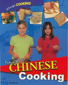 Fun With Chinese Cooking (Let's Get Cooking!) This is the best Chinese cookbook for kids that I've seen.  Each 2-page spread shows a picture of the ingredients and the preparation methods. The recipes are simple, but tasty, and the ingredients aren't hard to find.  #tween #book #recipes  #China