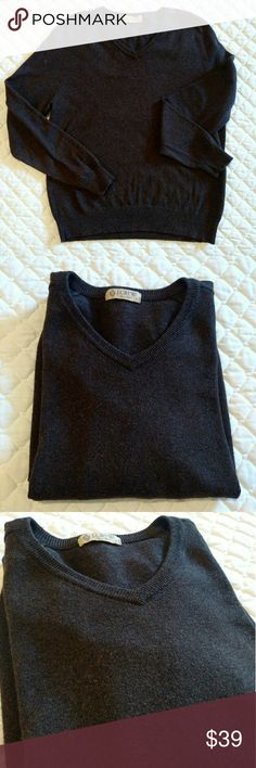 J Crew cashmere blend sweater J. Crew 92% cotton, 8% cashmere sweater.  Dark brown color.  Soft feel.  J. Crew name.  All you! J. Crew Sweaters Crewneck