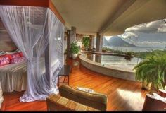 RT @miami2boston: Open Air Bedroom with pool & ocean-view in Tahiti! RT if you would love to be here right now! pic.twitter.com/yvysTul1tf