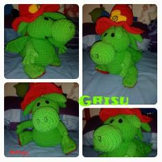 Grisu the little Dragon,Amigurumi